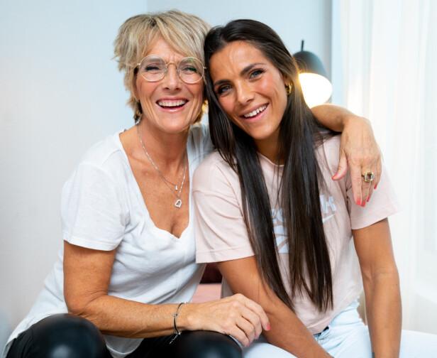 MOR OG DATTER: Trude Vasstrand er først og fremst kjent som moren til treningsblogger og influenser Jørgine Massa Vasstrand. Foto: Espen Solli / TV 2