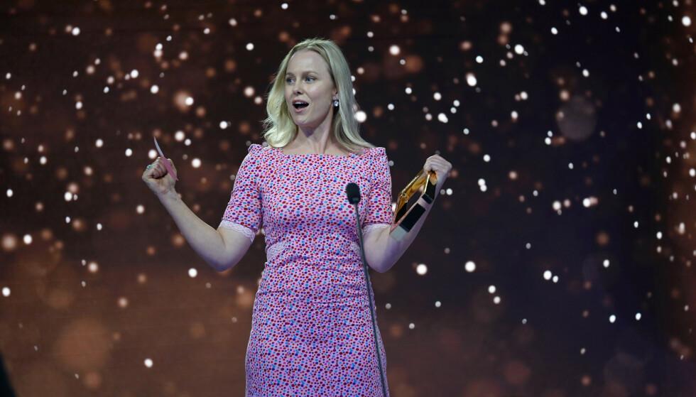 SKUESPILLER: Ingrid Bolsø Berdal vant for beste skuespiller. Foto: NTB Scanpix