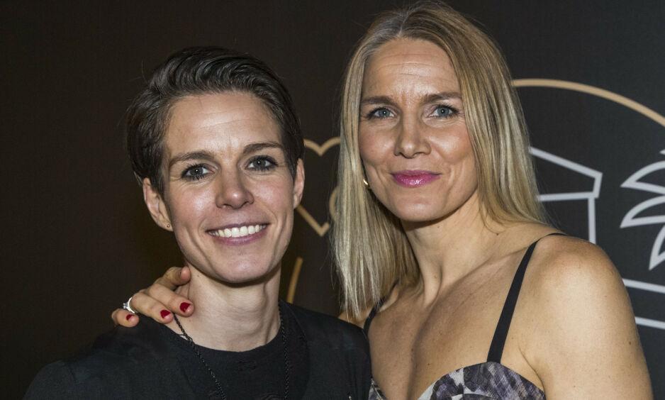 POPULÆRT PAR: I år er det ti år siden forholdet mellom Anja og Gro Hammerseng-Edin ble kjent. Nå åpner sistnevnte opp om den første tiden. Foto: Terje Pedersen / NTB scanpix