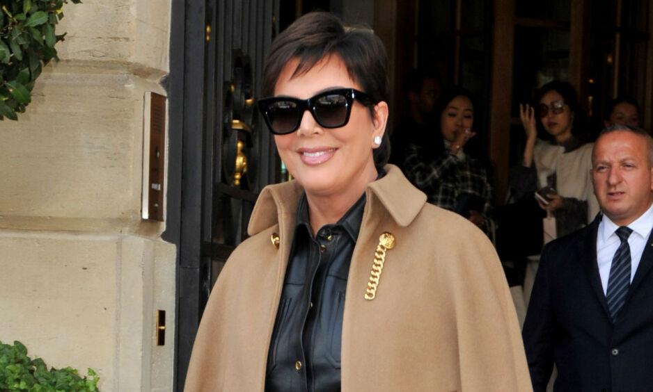 FANSEN REAGERER: Kris Jenner har delt en varm hyllest i sosiale medier, men det var noe som mangler. Se bildet som setter fyr på kommentarfeltet i saken. Foto: NTB Scanpix