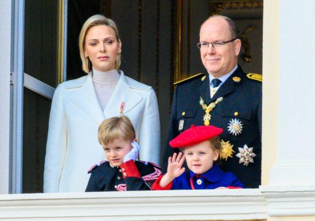 TVILLINGFORELDRE: Charlène og Albert har tvillingene Jacques og Gabriella sammen. Foto: NTB Scanpix