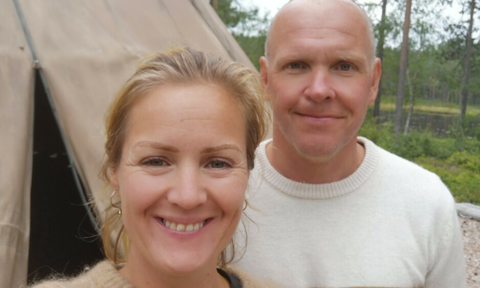 <strong>GIFT:</strong> Siri Kristiansen og Espen Bjurstedt er nå offisielt gift. Det er imidlertid kun det formelle som er på plass, før bryllupet finner sted senere i sommer. Foto: Privat
