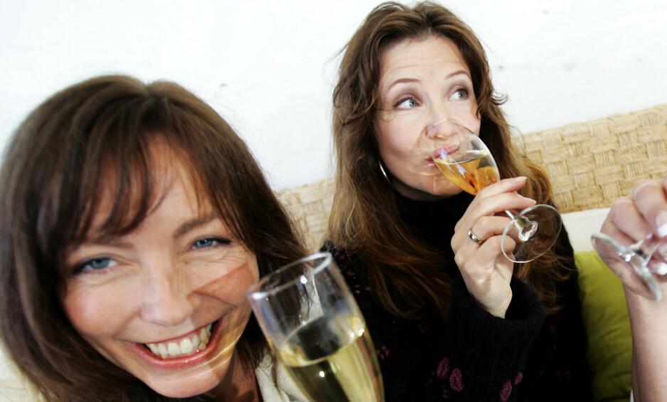 TAP I RETTEN: Anita Skorgan og Rita Eriksen var en gang i tida gode venner og kolleger. Nå har en tvist sørget for et søksmål. Nå har dommen falt. Foto: NTB Scanpix