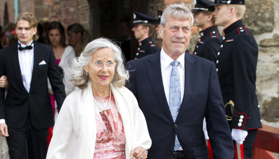 GIKK BORT: Magnar Alfred Fjeldvær, kjæresten til Marit Tjessem, ble 83 år gammel. Her fra 2017. Foto: Andreas Fadum/Se og Hør