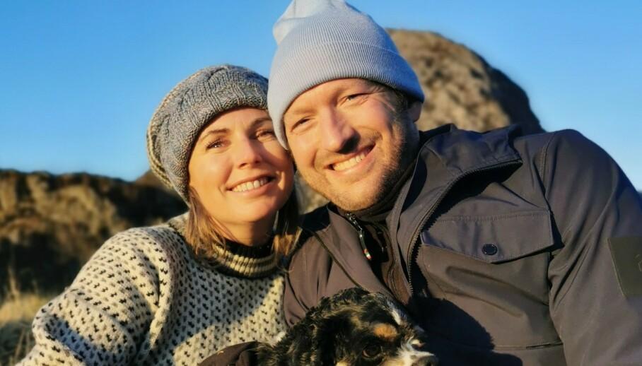 FLYTTER SAMMEN: Else Strøm Larsen og Peter Theolin møttes under TV 2-programmet «Kjærlighet til alle». Nå blir de samboere. Foto: Privat