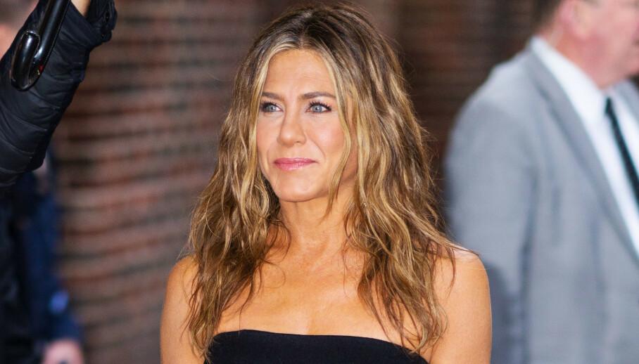 POPULÆR: Jennifer Aniston ble for alvor en av Hollywoods største stjerner etter at hun spilte rollen som Rachel Green i «Friends». Foto: NTB scanpix