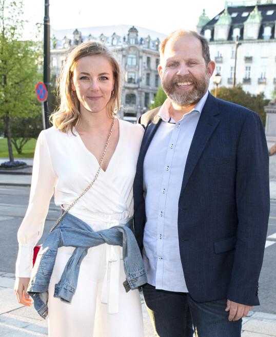 VENTER BARN: Truls Svendsen og Charlotte Smith kan glede seg over at de skal bli tobarnsforeldre. Foto: Andreas Fadum