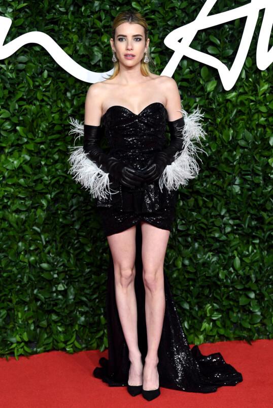 SVÆRT PRIVAT: Emma Roberts holder kortene tett til brystet når det kommer til sitt eget privatliv. Foto: NTB Scanpix
