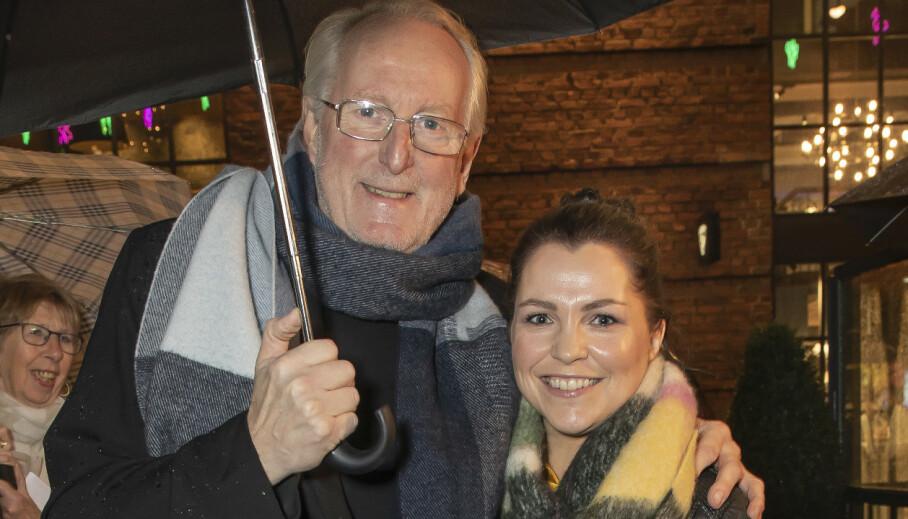 <strong>PAR I HJERTER:</strong> I 2018 ble det kjent at Eyvind Hellstrøm og Anita Rennan var et par. Nå forteller han om forholdet i en ny episode av podkasten «Truls &amp; Hellstrøm». Foto: Tore Skaar / Se og Hør