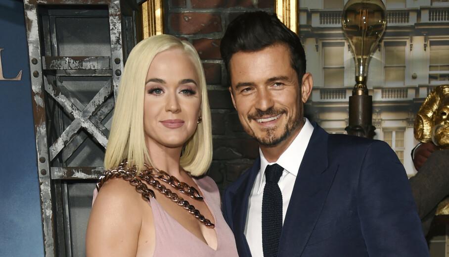 LANGT NEDE: Sangstjernen Katy Perry innrømmer i et nytt intervju at hun tok det tidligere bruddet med sin nåværende forlovede, Orlando Bloom, svært hardt. Foto: NTB Scanpix