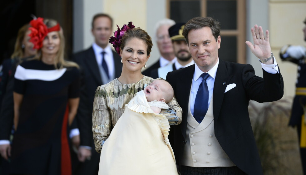 HJEM TIL SVERIGE: Prinsesse Madeleine og ektemannen Chris O'Neill har bodd i USA i to år. Nå kjenner Madeleine på et savn etter hjemlandet Sverige. Foto: NTB Scanpix