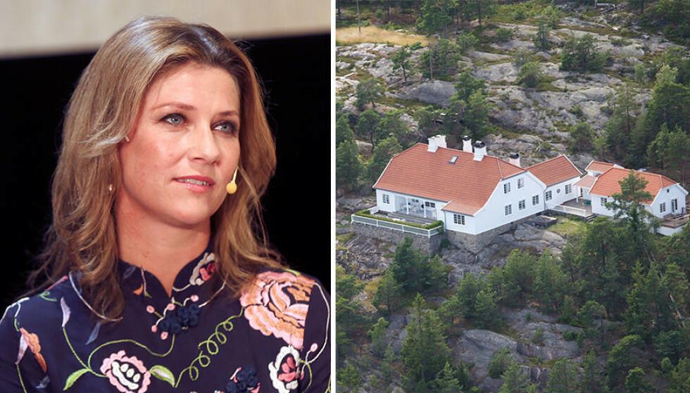 SOLGT: Prinsesse Märtha Louises feirehus på Hankø i Fredrikstad er nå solgt. Foto: NTB Scanpix