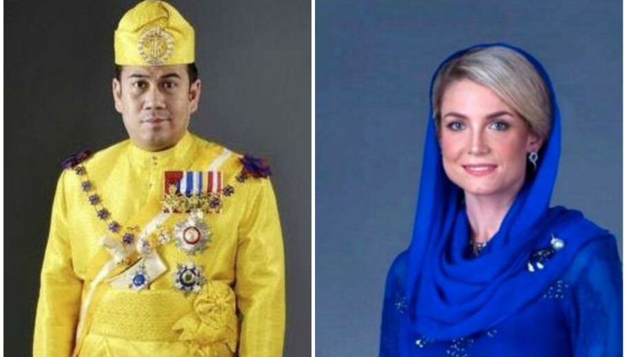GIFT: I fjor vekket svenske Sofia Louise Johansson (34) stor oppsikt da hun giftet seg med den malaysiske kronprinsen av Kelantan. Siden den gang har hun flittig delt bilder fra sin kongelige hverdag på Instagram. Foto: Kelantan Palace