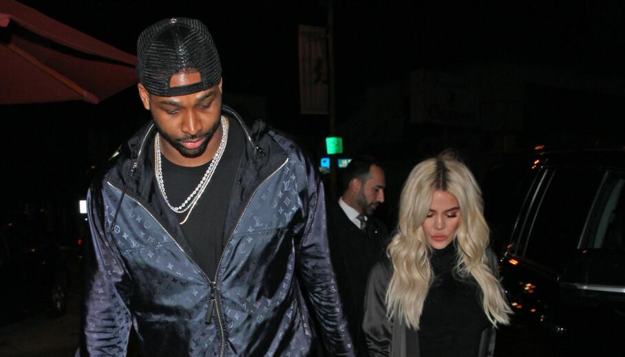 - NY SJANSE: Khloé Kardashian og Tristan Thompson skal angivelig være sammen igjen, etter alt dramaet. Foto: NTB Scanpix