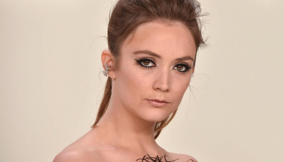 FORLOVET: Carrie Fishers datter, Billie Lourd (27), ble nylig fridd til av kjæresten Austen Rydell (28). Foto: NTB/Scanpix