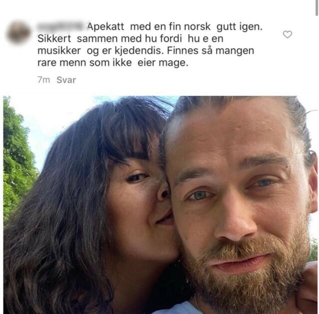 - NOK NÅ: Dette innlegget la Maria Mena ut på sin Instagram-konto torsdag. Foto: Privat