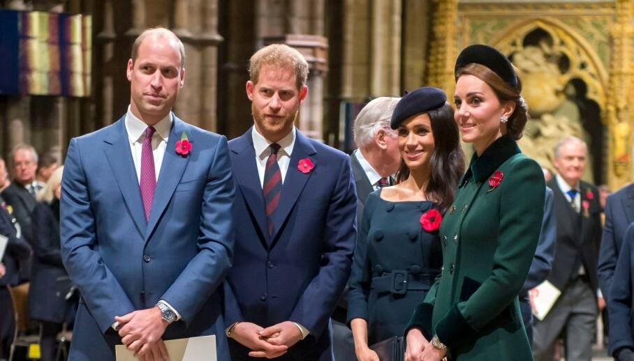 NYE OPPLYSNINGER: I den nye boken «Royals At War» kommer det frem en rekke nye avsløringer om forholdet mellom flere av den britiske kongefamiliens medlemmer. Foto: NTB Scanpix