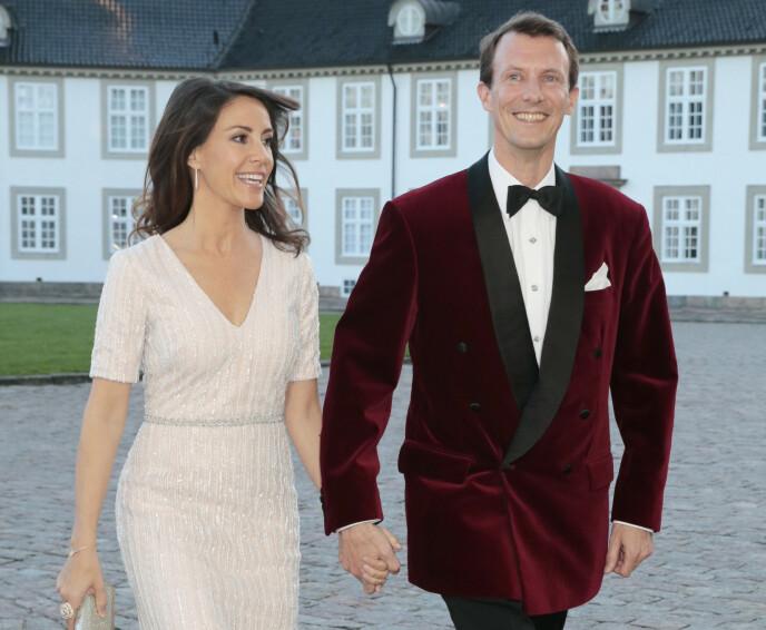 STREVER: Prins Joachim er åpen om at det er krevende å være en nummer to. Her med kona prinsesse Marie i 2015. Foto: Lise Serud / NTB