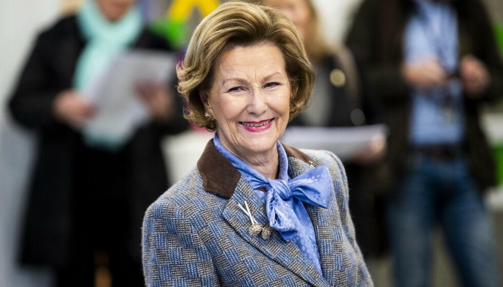 FEIRING: I dag 4. juli fyller dronning Sonja 83 år. Dermed er det nå duket for feiring for kongefamilien. Foto: NTB Scanpix