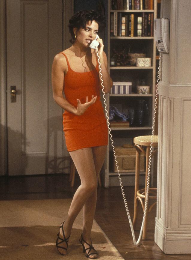 LANG FARTSTID: Lisa Rinna er også blant stjernene som har mange «I gode og onde dager»-episoder under beltet. Hun er kreditert på hele 365 episoder mellom 1992 og 2018, ifølge IMDb. Foto: Paul Drinkwater/ NBC TV/ Kobal/ REX/ NTB scanpix
