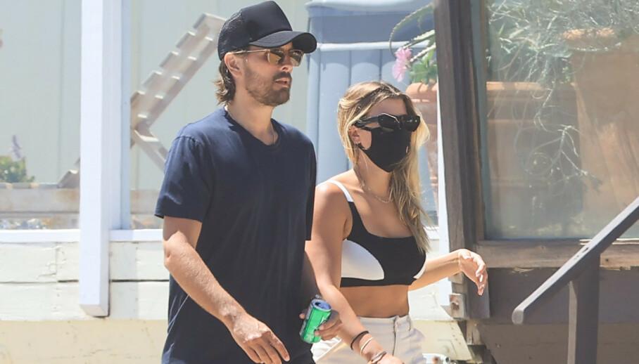 SAMMEN IGJEN?: Realityprofil Scott Disick og modell Sofia Richie ble sett gående sammen i Malibu på USAs nasjonaldag, ikke lange stunden etter bruddet. Foto: Mega / NTB Scanpix