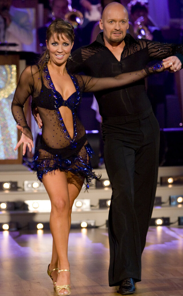 I SORG: Therese Cleve danset med Finn Christian Jagge i 2007. Hun forteller til Se og Hør at dødsfallet kommer som et sjokk. Foto: Werner Juvik/ Se og Hør