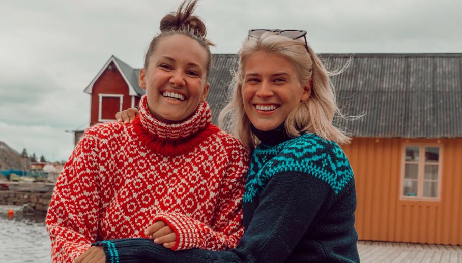 PÅ BOLIGJAKT: På Instagram avslører Camilla Lorentzen at hun og kjæresten Julie Visnes er på boligjakt i Tønsberg. Foto: Privat