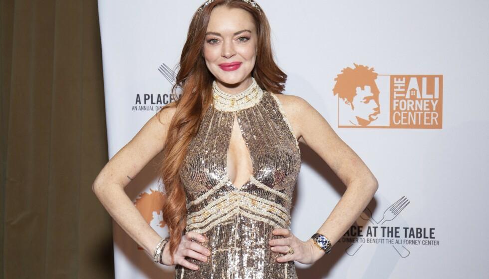 NÅ: Lindsay på et event i i fjor høst. Foto: NTB Scanpix