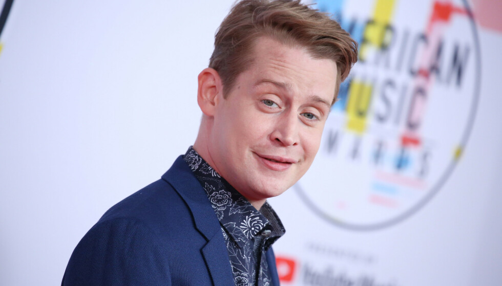NÅ: Macaulay på prisutdeling i Los Angeles. Foto: NTB Scanpix