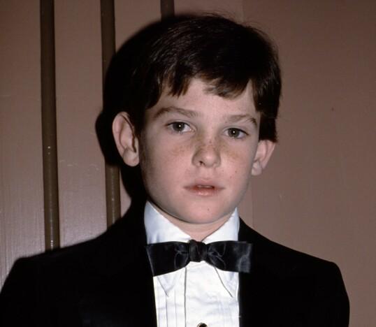 DA: Henry Thomas under en Golden Globe-utdeling i 1983. Foto: NTB Scanpix