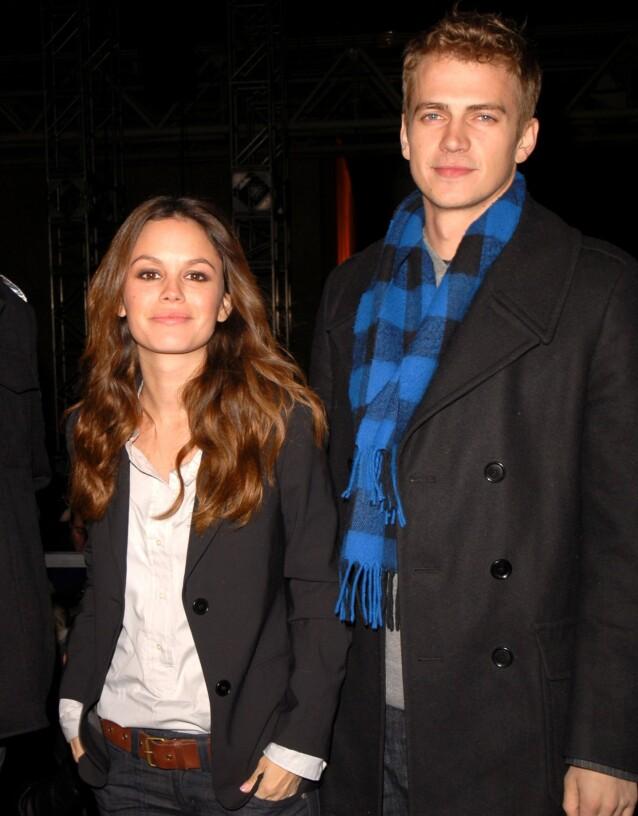 2007: Det var i 2017 at Rachel Bilson og Hayden Christensen gikk hvert til sitt etter 10 år som par. Foto: NTB Scanpix
