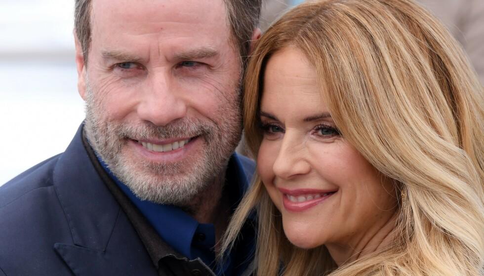 DØD: Jon Travoltas kone, Kelly Preston, er død som følge av brystkreft. Foto: NTB Scanpix