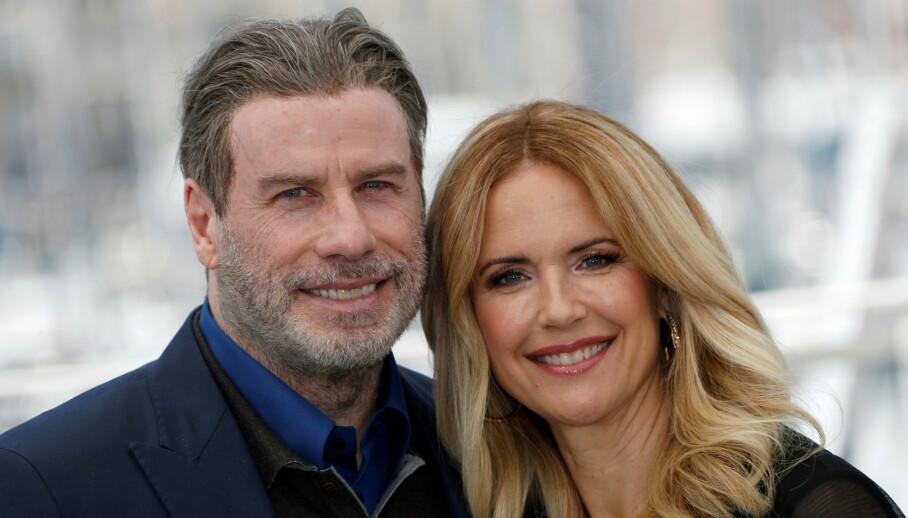 SISTE ORD: John Travoltas kone, Kelly Preston, døde av brystkreft søndag. Bare noen uker før delte hun sine siste ord og bilde på Instagram. Foto: NTB Scanpix