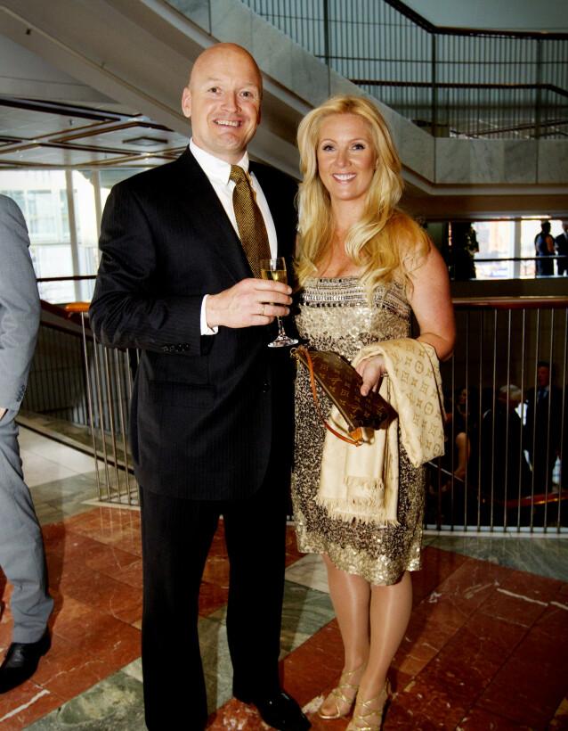 MANN OG KONE: Finn Christian Jagge var gift med kona Trine-Lise, og sammen hadde de to barn. Her er de fotografert i 2010. Foto: NTB Scanpix