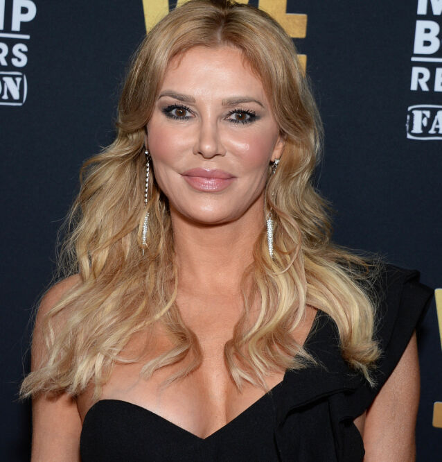 AFFÆRE? «The Real Housewives of Beverly Hills»-stjerne Brandi Glanville hevder at hun og Richards har hatt en affære. Her er hun avbildet i 2019. Foto: NTB Scanpix
