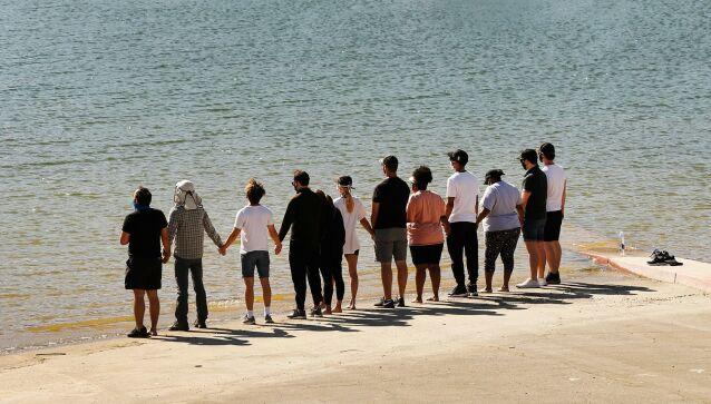 SAMLET: Gjengen fra dramaserien har flere ganger blitt rammet av tragedier. Foto: NTB Scanpix