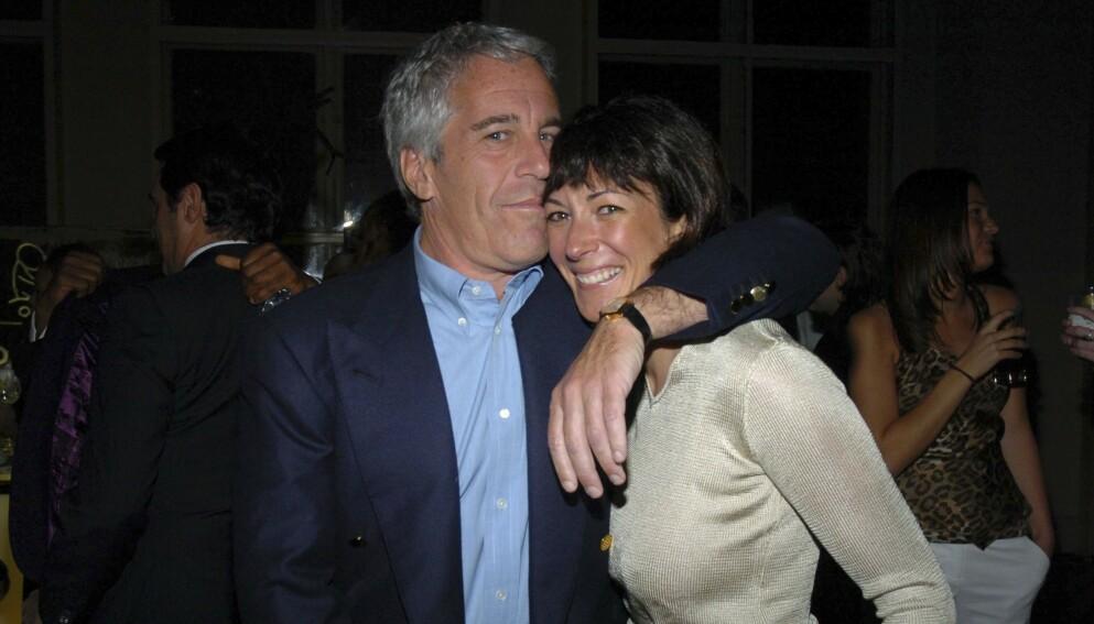 PARTNERE: Den avdøde finansmannen Jeffrey Epstein sammen med nå fengslete Ghislaine Maxwell i 2005. Foto: Patrick McMullan / Getty Image / NTB