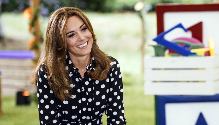 HEKTISK: Hertuginne Kate må hanskes med en rekke nye utfordringer som følge av corona-nedstengningen. Det avslører hun på «BBC Breakfast». Foto: NTB Scanpix