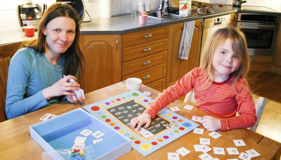 GODE MINNER: Elisabeth husker en tid der hun hadde overskudd til å være en god mor og kose seg med datteren sin.