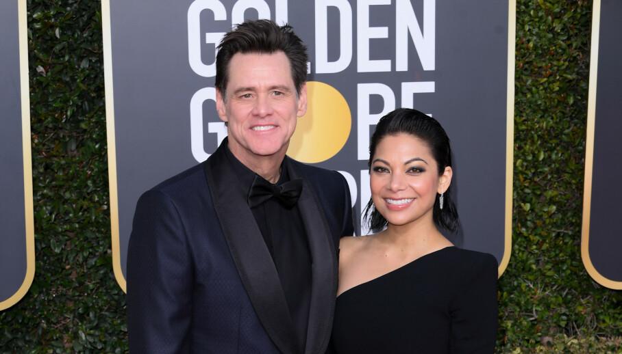 NIFS OPPLEVELSE: Skuespiller Jim Carrey fortalte om en skummel opplevelse på Hawaii da han gjestet «The Tonight Show» nylig. Foto: NTB Scanpix