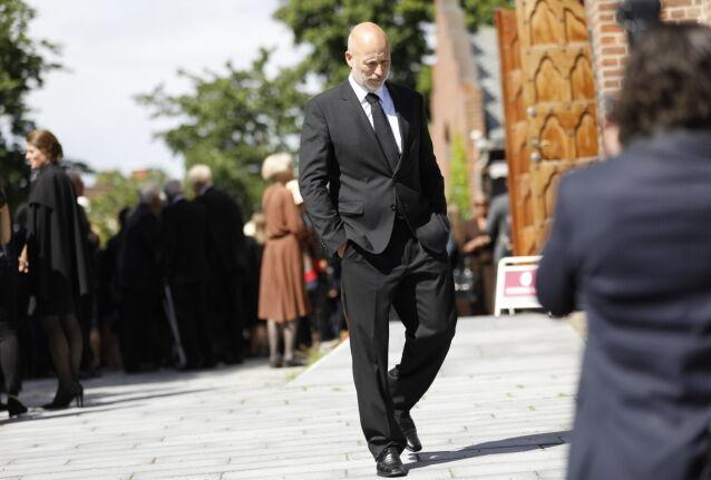 I SORG: Lasse Kjus. Foto: Christian Roth Christensen / Dagbladet