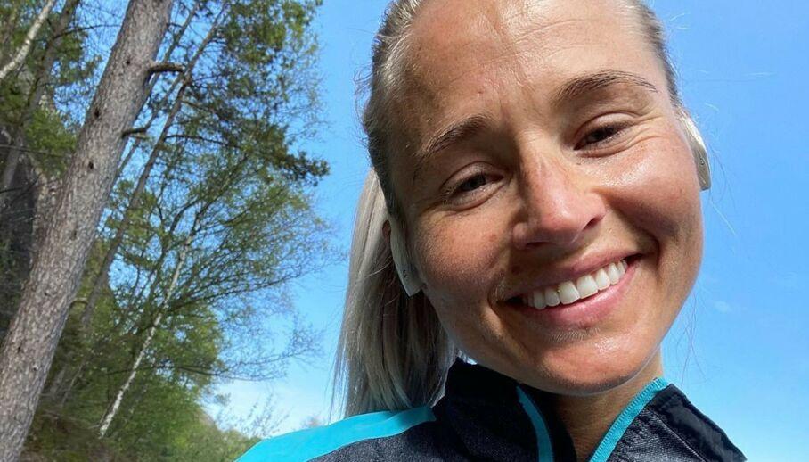 SVARER: Inger Houghton får stadig høre at hun har et risikosvangerskap. Nå svarer hun. Foto: Privat