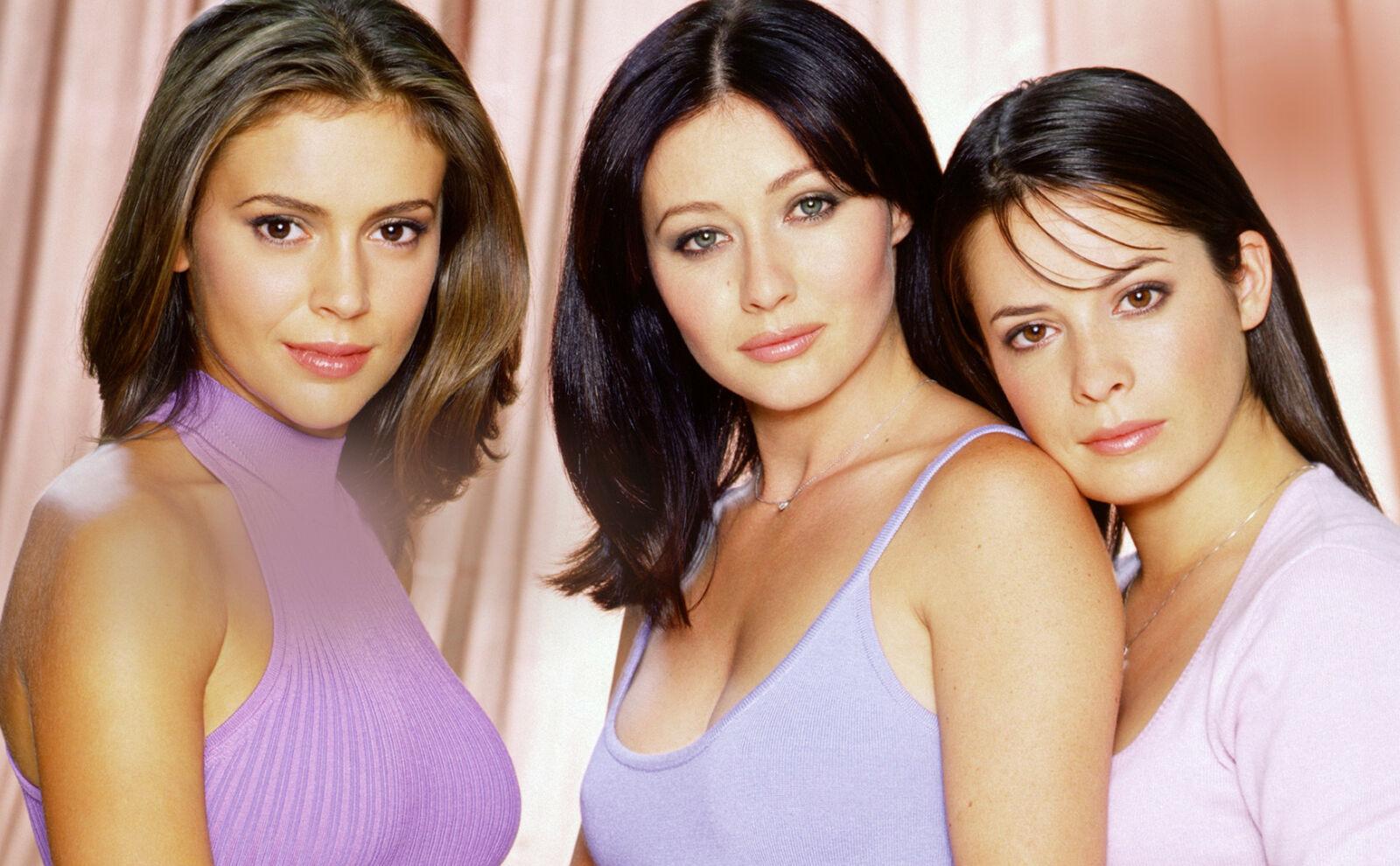1998-2006: Mye har skjedd siden serien om de forheksede Halliwell-søstrene gikk på TV. Foto: NTB