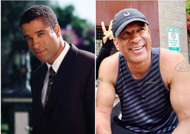 Dorian Gregory i 1999 til venstre, i 2020 til høyre. Foto: Warner Bros. / Instagram