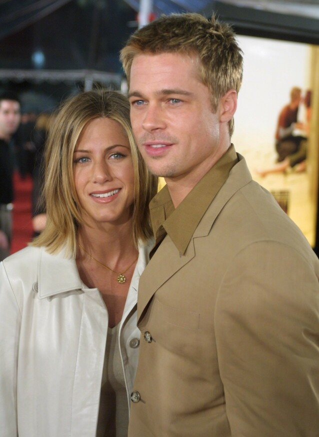 PREMIERE: Da Brads film «The Mexican» hadde premiere i 2001, var ekteparet selvskrevne gjester. Foto: NTB Scanpix