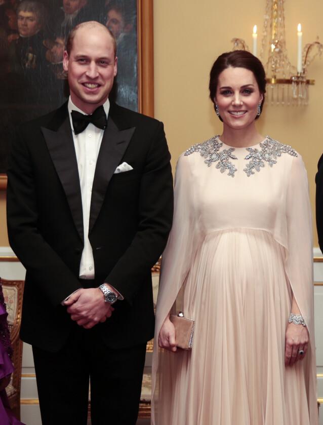 HERTUGPAR: Prins William og hertuginne Kate har vært gift siden 2011. Her er de fotografert på det norske slottet. Foto: Lise Åserud / NTB Scanpix