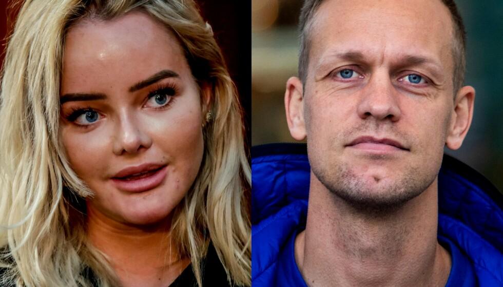 AVFEIER: Influenser Sophie Elise avfeier Mads Hansens påstand om at hun har redigert bildet av rumpa på Instagram. Foto: NTB Scanpix