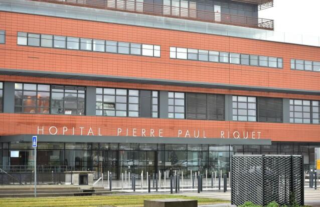 LAGT INN: Prins Joachim ble innlagt og operert for blodpropp på universitetssykehuset i Toulouse i Sør-Frankrike. Foto: NTB Scanpix