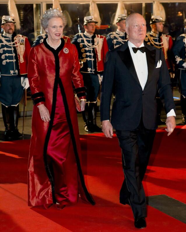 ALLIANSE: Da prinsesse Benedikte av Danmark giftet seg med tyske prins Richard, ble en allianse mellom Danmark og Tyskland styrket. Paret var gift fra 1968 og fram til hans død i 2017. Her er de fotografert sammen i 2012. Foto: NTB Scanpix