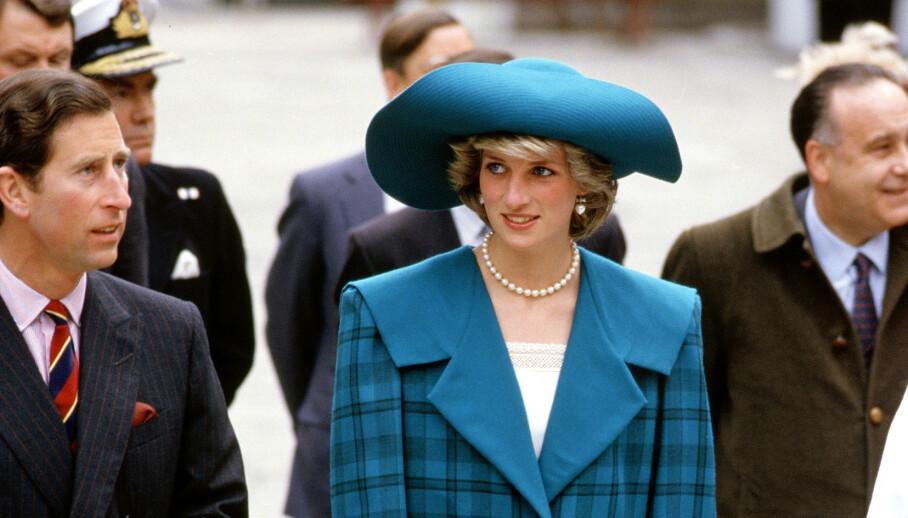 GAMLE UTTALELSER: Et gammelt intervju med Diana, prinsessen av Wales, vekker nå oppsikt. Her er hun avbildet i Italia i 1985, sammen med daværende ektemann, prins Charles. Foto: NTB Scanpix